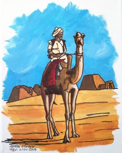 Camel rider 3 - Northern Sudan